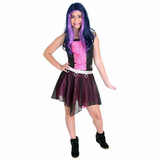 Spectra Vondergeist é caracterizada por seu cabelo roxo