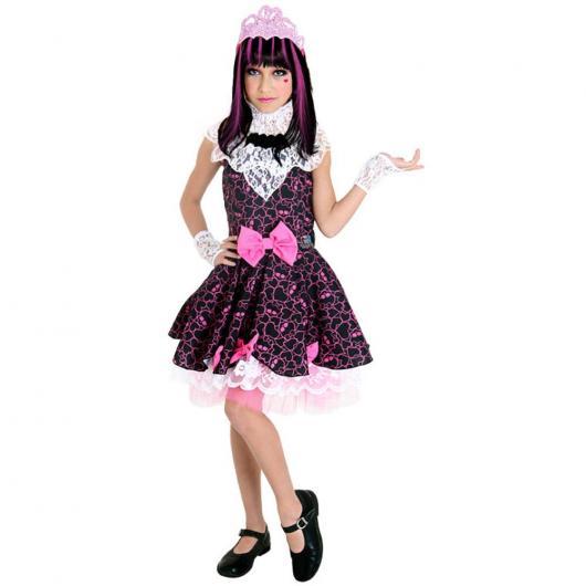 Fantasia lindinha para meninas fãs de Monster High