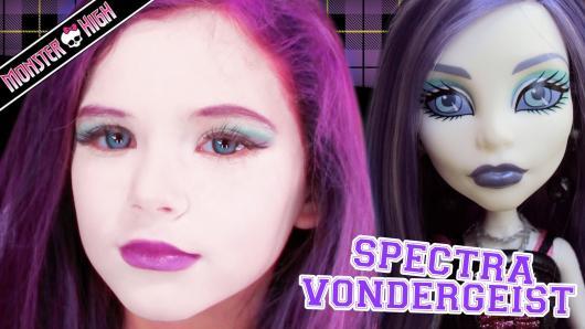Sugestão de make de Spectra Vondergeist