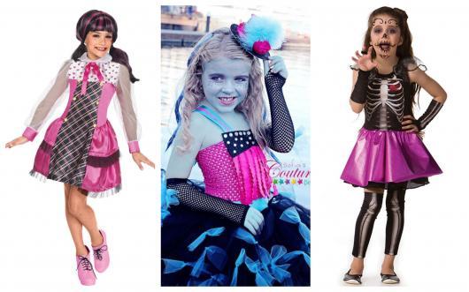 Há diferentes fantasias da Monster High atualmente