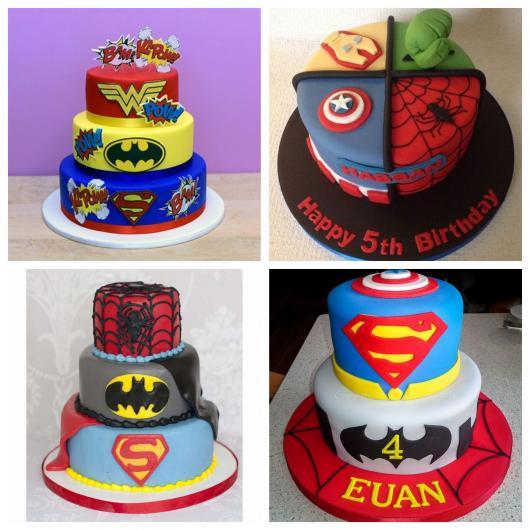 Um bolo impecável ajuda até a incrementar a decoração da festa
