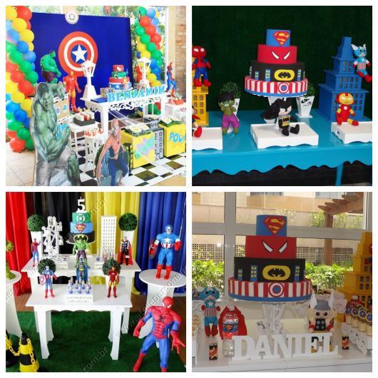 70 ideias inspiradoras para montar uma festa Super-Herói inesquecível!