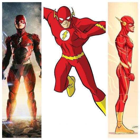 Vários estilos de fantasia de um dos maiores heróis de todos os tempos