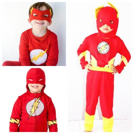 As crianças vão se divertir muito com o traje do personagem