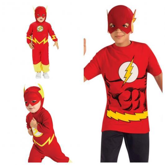 São ideias e modelos de fantasia do Flash infantil para todas as idades
