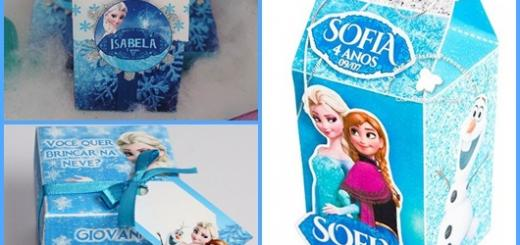 Kit festa Frozen montado