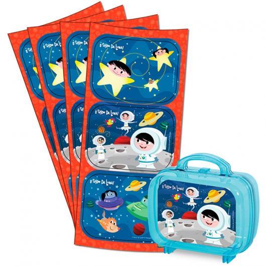 Adesivos personalizados do Show da Luna para maletinha