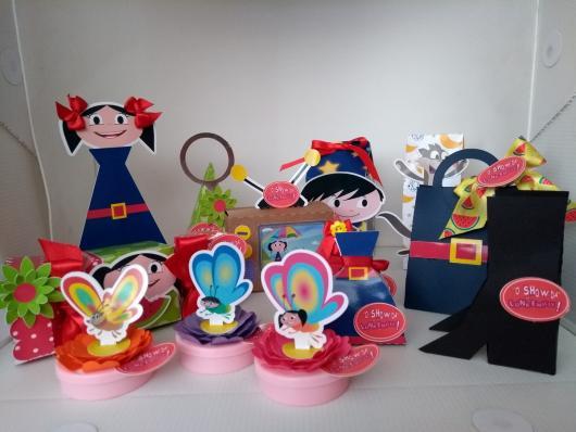 A decoração da festa Show da Luna é considerada muito divertida e colorida