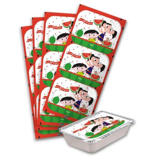 Adesivos personalizados para marmitinhas