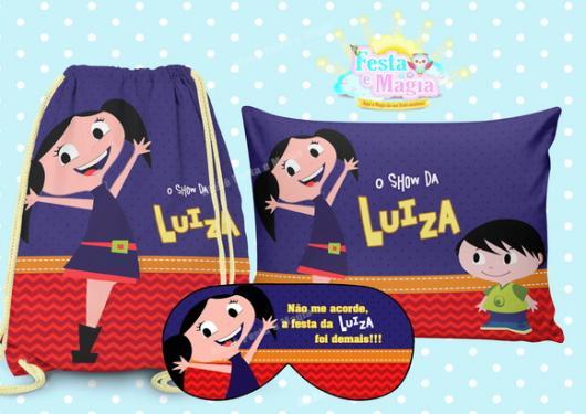 Kit Festa do Pijama Show da Luna - Elo7