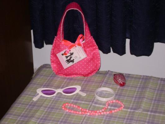 Um kit completo com acessórios da moda para as moças