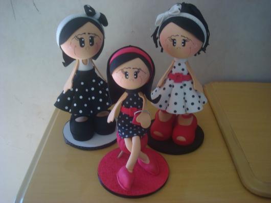 Bonequinhas de porcelana
