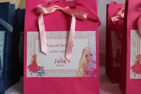 Lembrancinha da Barbie caixinha personalizada