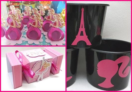 Lembrancinha da barbie inspirações