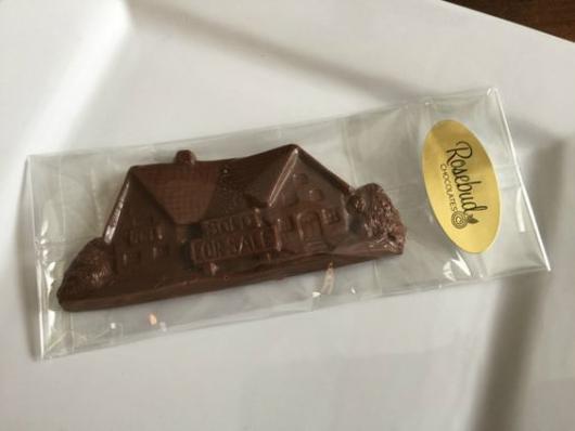 lembrancinha chocolate