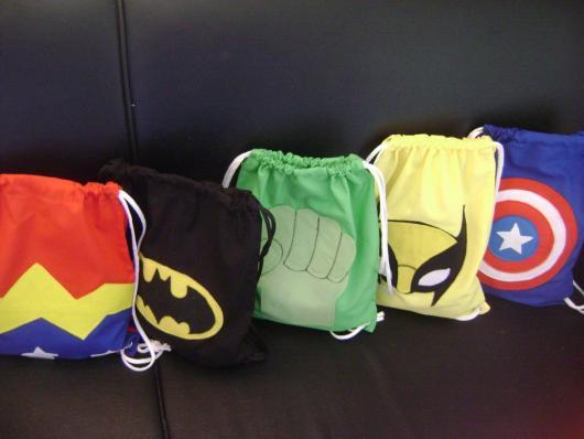 Bolsas para carregar acessórios