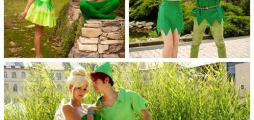 Muitas versões da fantasia Peter Pan e Sininho para curtir qualquer festa com seus amigos e familiares!