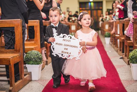 Plaquinha para casamento evangélico