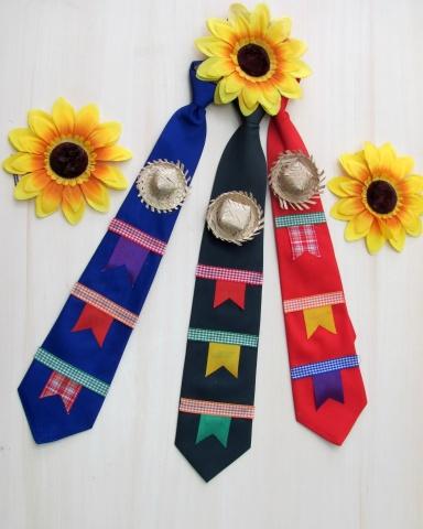 gravata festa junina