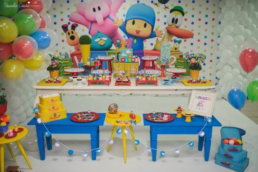 Veja dica de decoração de aniversário de 2 anos do Pocoyo