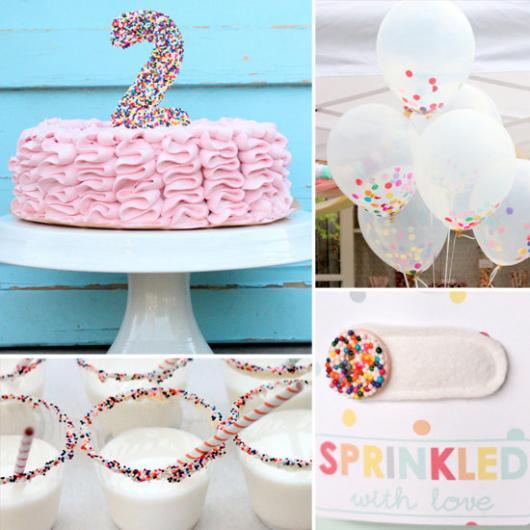 Mais uma sugestão de bolo de chantilly para festa de 2 anos