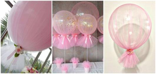 ideias festa rosa
