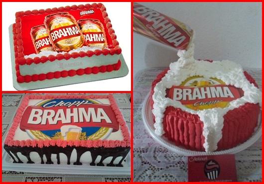 Bolo da brahma inspirações