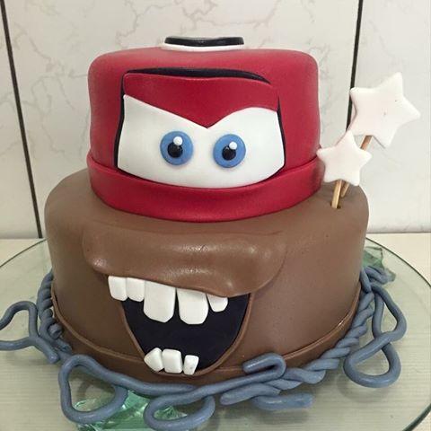 Esse bolo é totalmente inspirado em Lightning