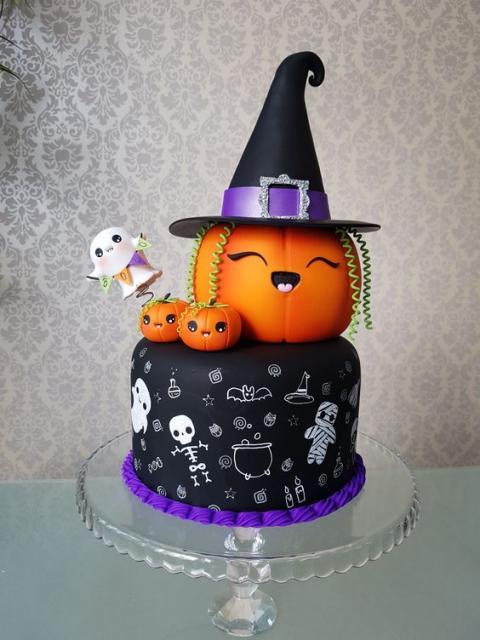 Decoracao De Halloween Para Festa De Aniversario.Bolo Halloween 65 Ideias Impressionantes Para O Dia Das Bruxas