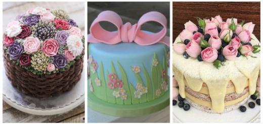 Aposte na delicadeza do bolo primavera para sua festa