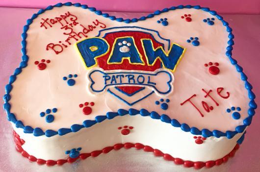 Bolos diferentes de aniversário com tema Patrulha Canina