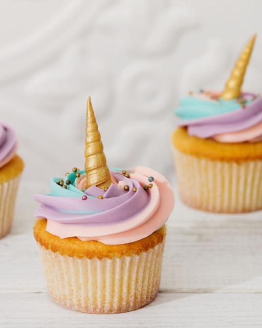 Cupcake Chá de Bebê: Unicórnio