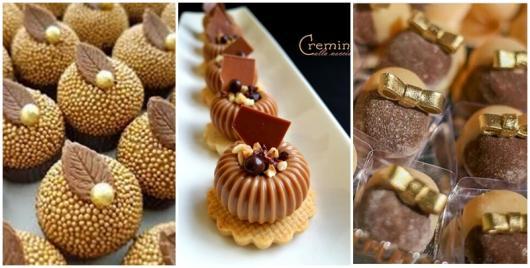 doces modernos e de luxo