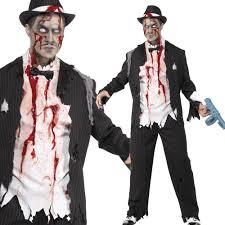 Fantasia de zumbi: Masculina com manchas de sangue