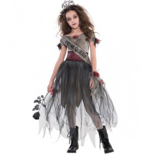 Fantasia de zumbi infantil: Princesa