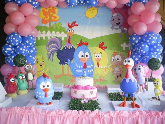 Festa Galinha Pintadinha Rosa 40 Ideias Fofas Para A Festa Infantil