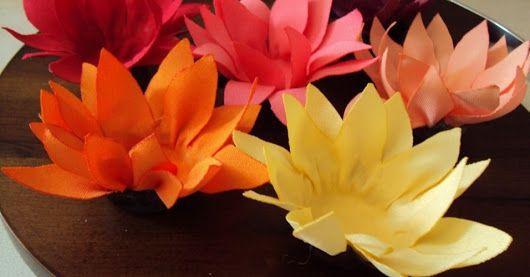 Forminhas para doces finos de papel crepom laranja
