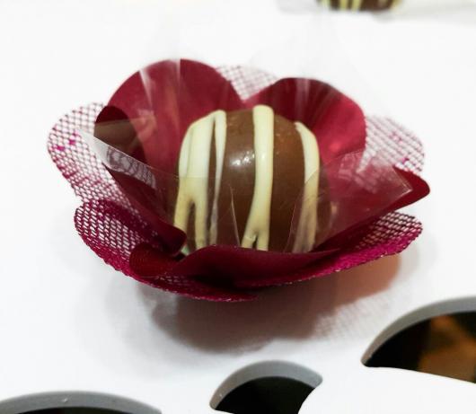 Forminhas para doces finos marsala