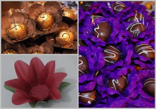 Forminhas para doces finos inspirações