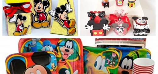 Conheça aqui dicas de kit festa Mickey
