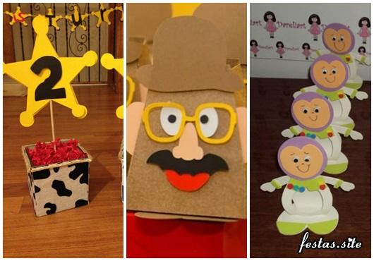 Elaborar uma festa Toy Story significa pensar também nas lembrancinhas!