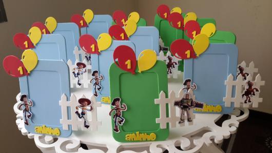 Inspirações de porta retratos do Toy Story