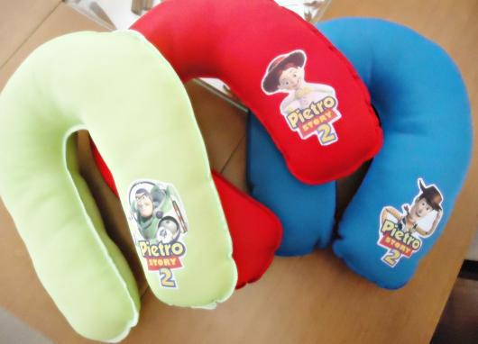 Almofadas para pescoço com estampa do Toy Story