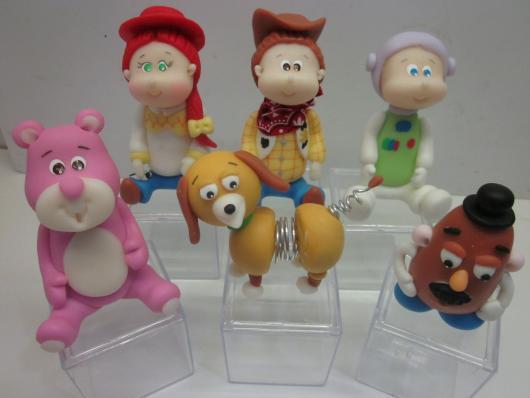Inspirações de bonecos Toy Story de biscuit