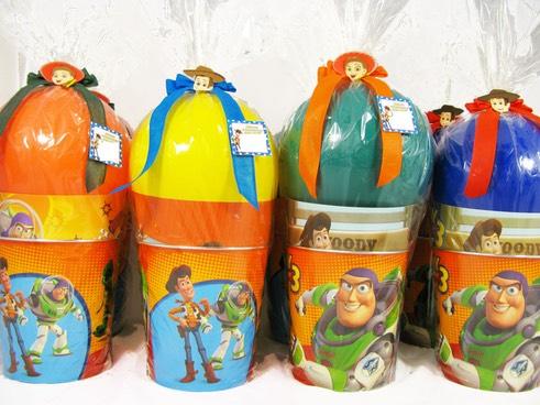 Copos como lembrancinhas Toy Story personalizadas
