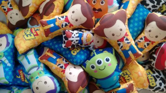Almofadinhas personalizadas dos personagens de Toy Story