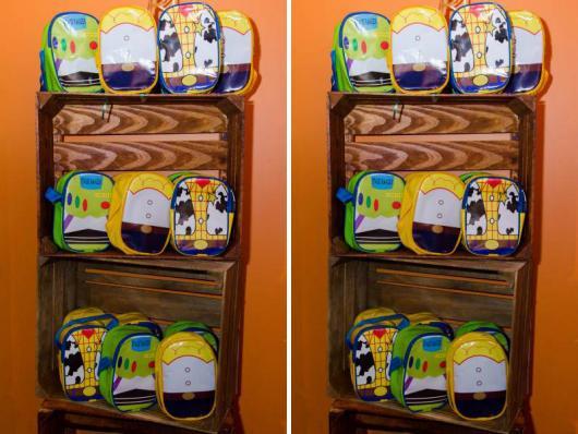 Bolsas variadas do Toy Story para dar de lembrancinhas