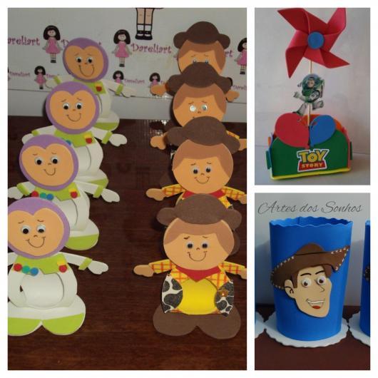 Faça você mesma as lembrancinhas de EVA do Toy Story