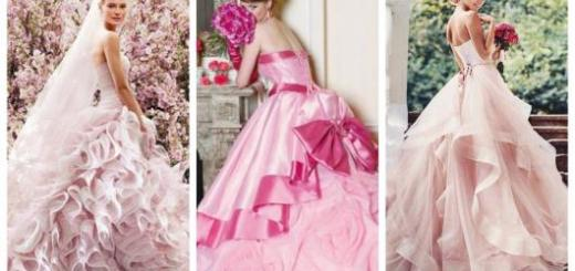 Aposte no romantismo e na delicadeza do vestido de noiva rosa