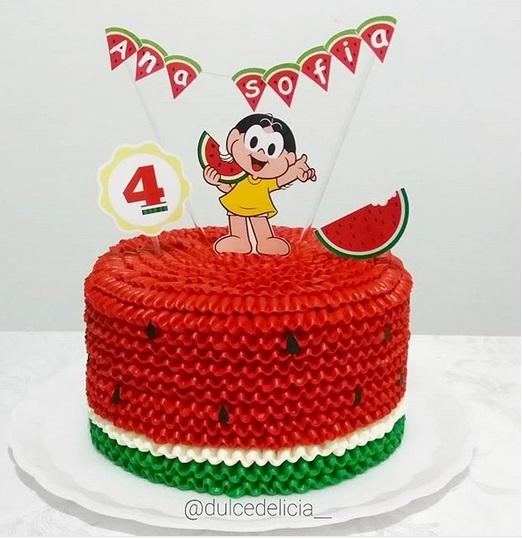 bolo de chantilly decorado